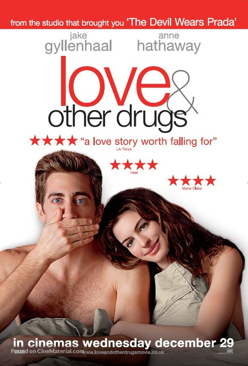 Love and Other Drugs - British Movie Poster