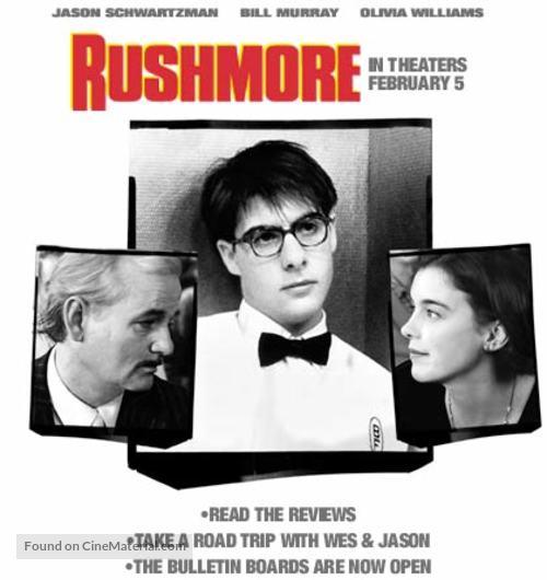 Rushmore - Movie Poster