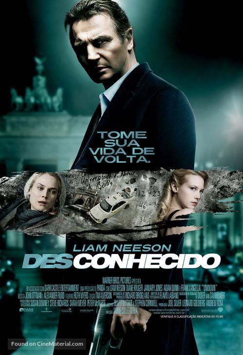 Unknown - Brazilian Movie Poster