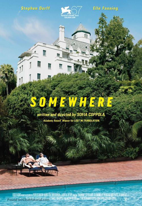 Somewhere - Swiss Movie Poster