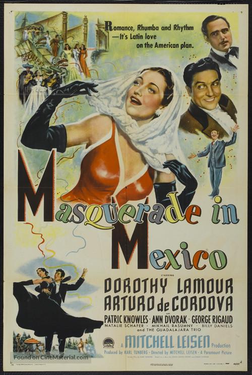 Masquerade in Mexico - Movie Poster