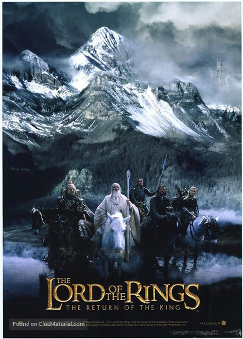 The Lord of the Rings: The Return of the King - Movie Poster
