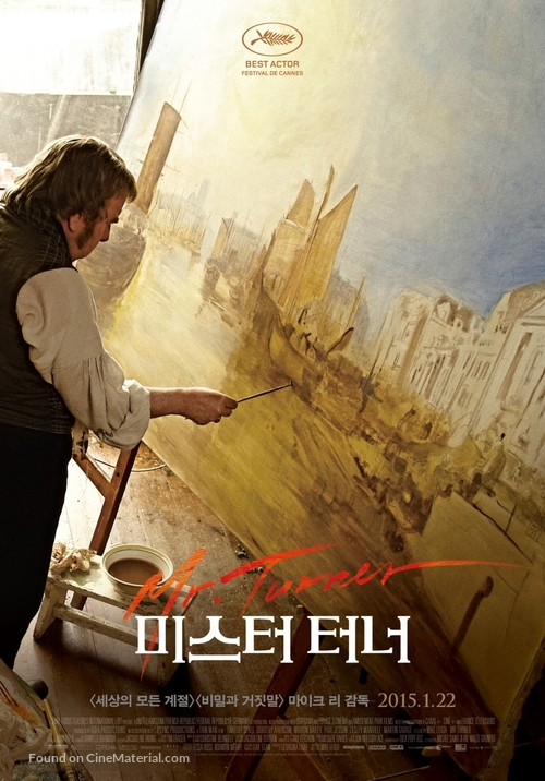 Mr. Turner - South Korean Movie Poster