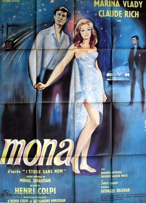 Mona, l'étoile sans nom - French Movie Poster