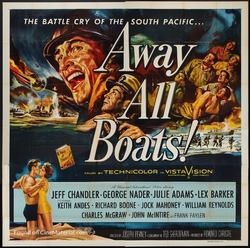 Away All Boats - Movie Poster