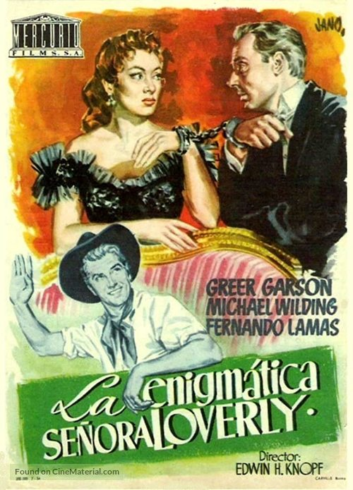 The Law and the Lady - Italian Movie Poster