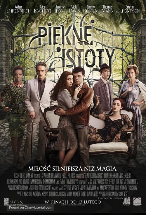 Beautiful Creatures - Polish Movie Poster