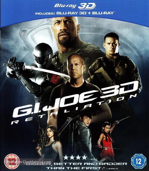 G.I. Joe: Retaliation - British Movie Cover