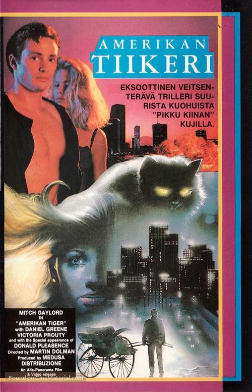 American risciò - Finnish VHS movie cover