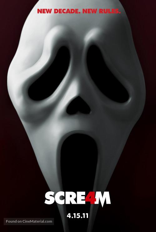 Scream 4 - Teaser movie poster