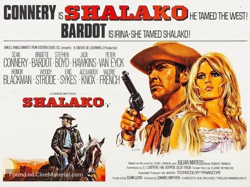 Shalako - British Movie Poster