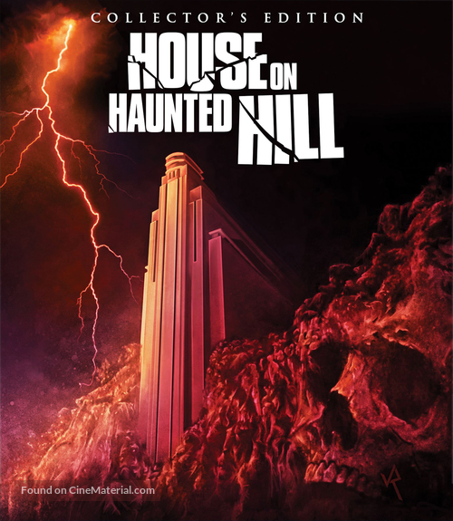 House On Haunted Hill - Blu-Ray movie cover