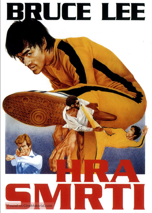 Game Of Death - Czech DVD movie cover