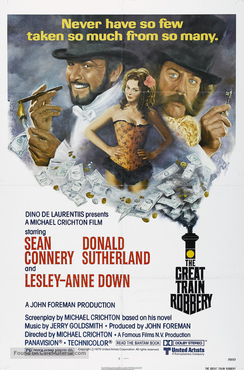 The First Great Train Robbery - Theatrical movie poster