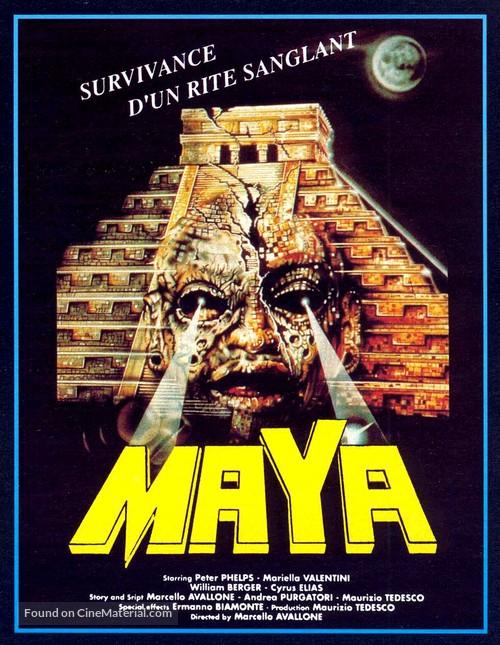 Maya - French Movie Poster