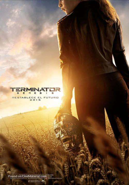 Terminator Genisys - Mexican Movie Poster