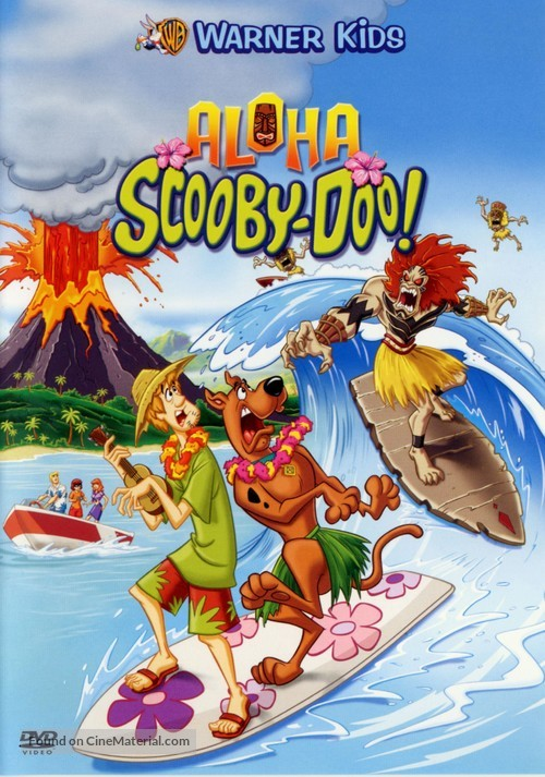 Aloha, Scooby-Doo - French DVD movie cover
