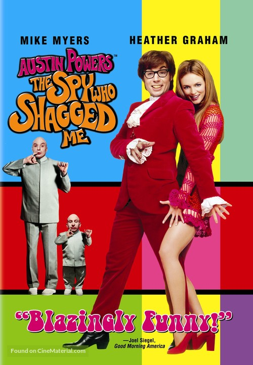 Austin Powers: The Spy Who Shagged Me - DVD movie cover