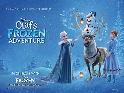 Olaf's Frozen Adventure - British Movie Poster