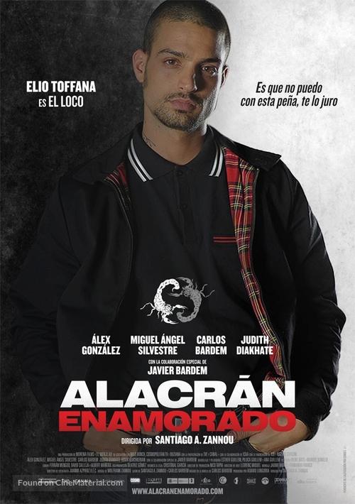 Alacrán enamorado - Spanish Movie Poster