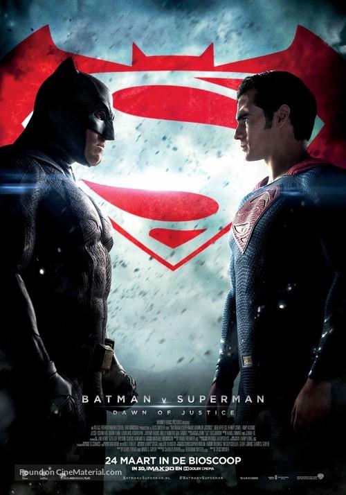 Batman v Superman: Dawn of Justice - Dutch Movie Poster