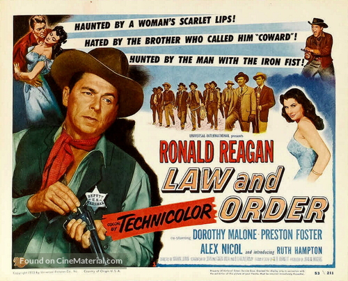 Law and Order - Movie Poster