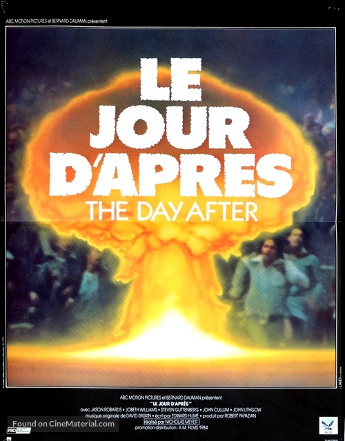 The Day After - French Movie Poster