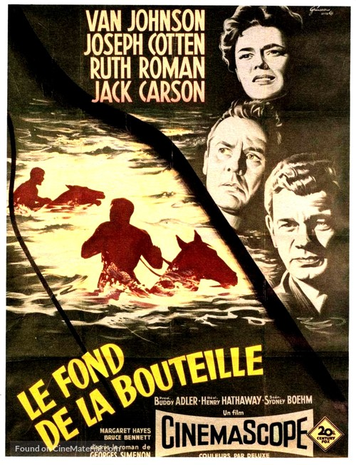 The Bottom of the Bottle - French Movie Poster