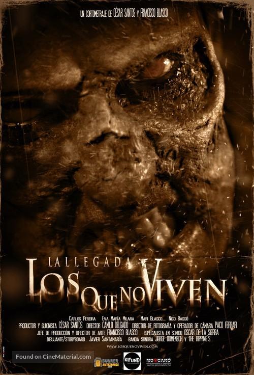 Los que no viven: La llegada - Spanish Movie Poster