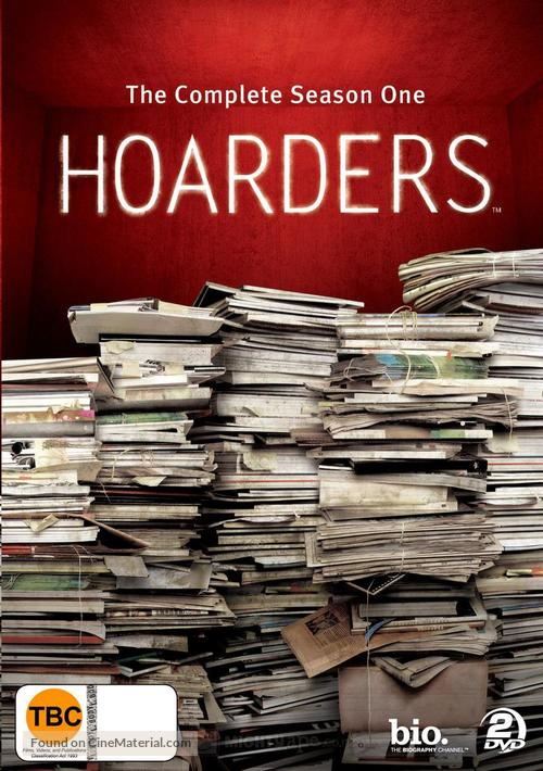 """""""Hoarders"""" - New Zealand DVD movie cover"""