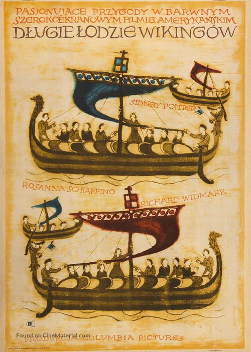 The Long Ships - Polish Movie Poster