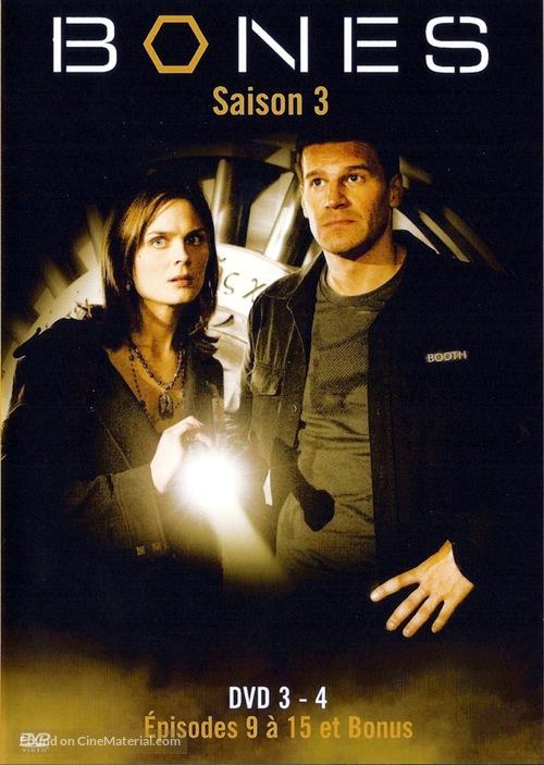"""Bones"" - French DVD movie cover"