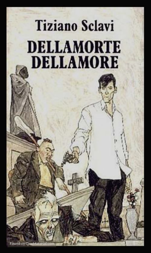 Dellamorte Dellamore - VHS movie cover
