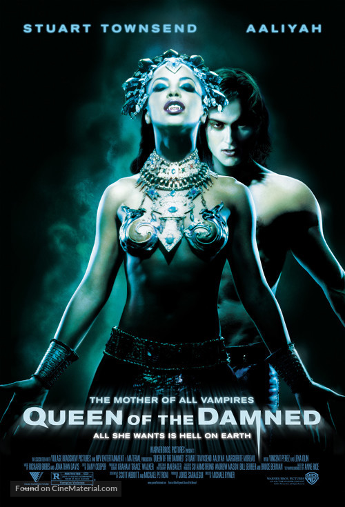 Queen Of The Damned - Movie Poster