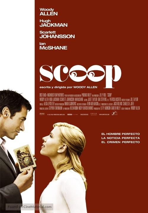 Scoop - Spanish Movie Poster