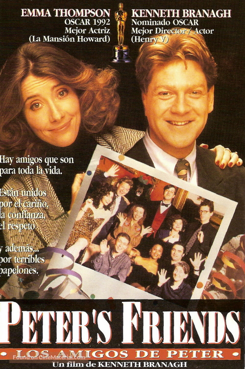 Peter's Friends - Argentinian Movie Cover