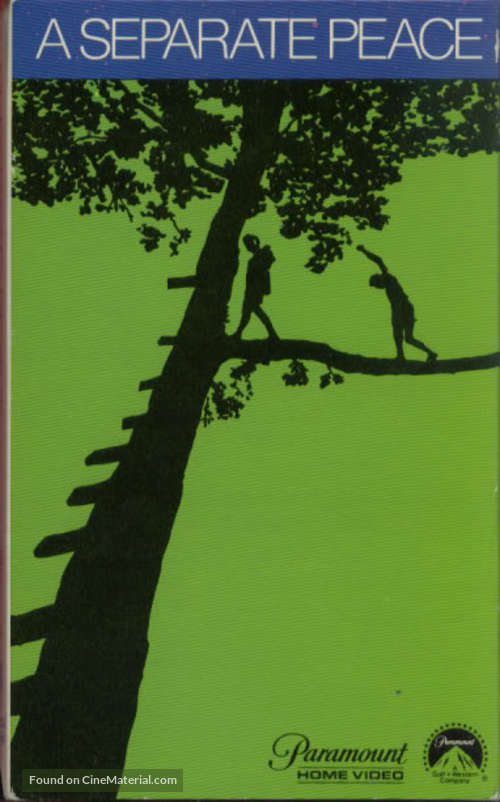 A Separate Peace (1972) movie cover