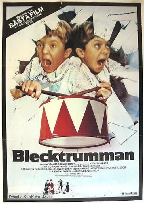Die Blechtrommel - Swedish Movie Poster