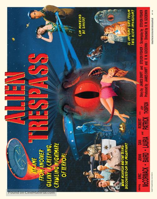 Alien Trespass - British Movie Poster