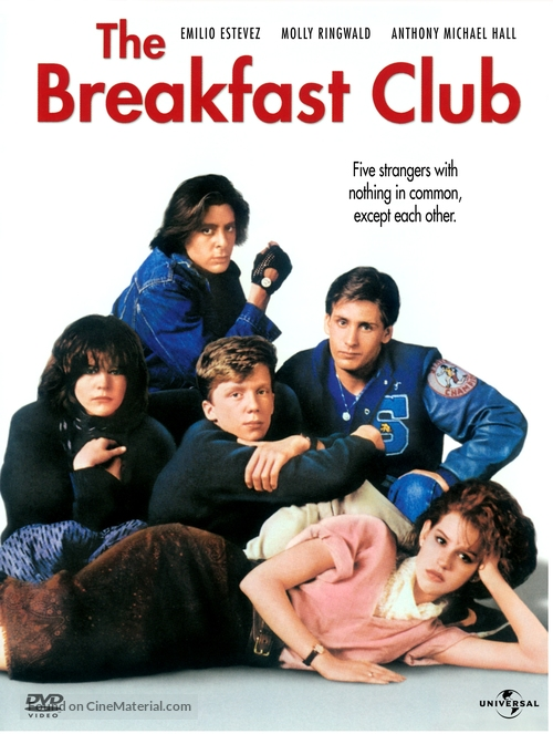 The Breakfast Club - DVD movie cover