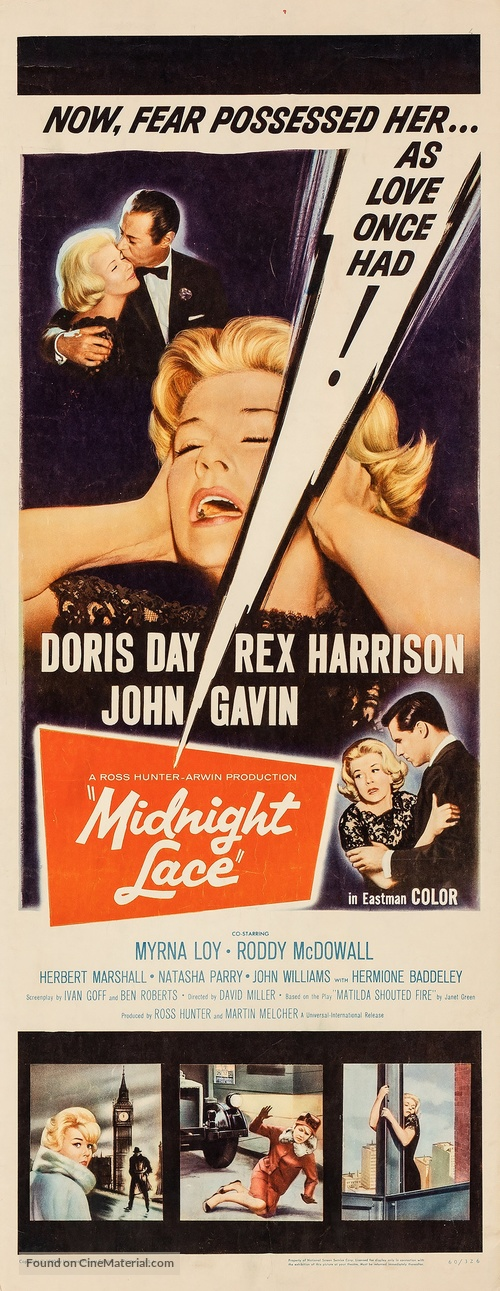 Midnight Lace - Movie Poster