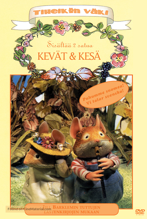 """""""Brambly Hedge"""" - Finnish DVD movie cover"""