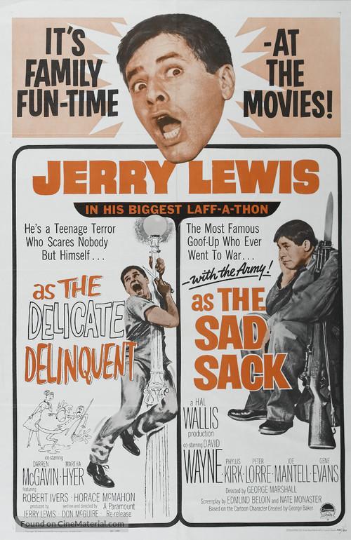 The Sad Sack - Combo poster