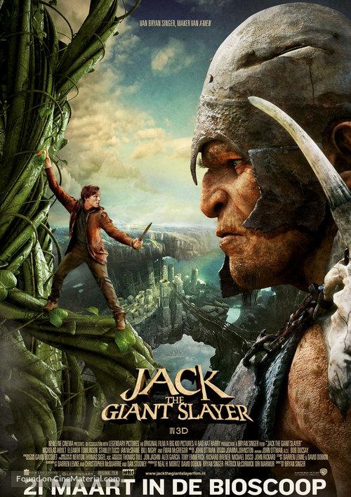 Jack the Giant Slayer - Dutch Movie Poster