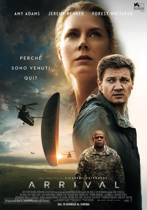 Arrival - Italian Movie Poster