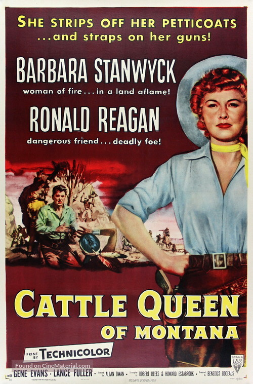 Cattle Queen of Montana - Movie Poster