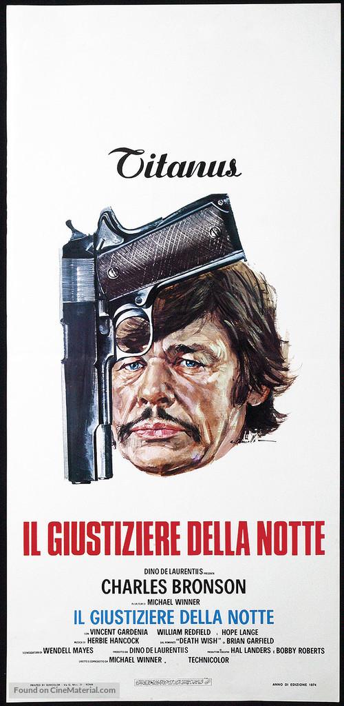 Death Wish - Italian Movie Poster