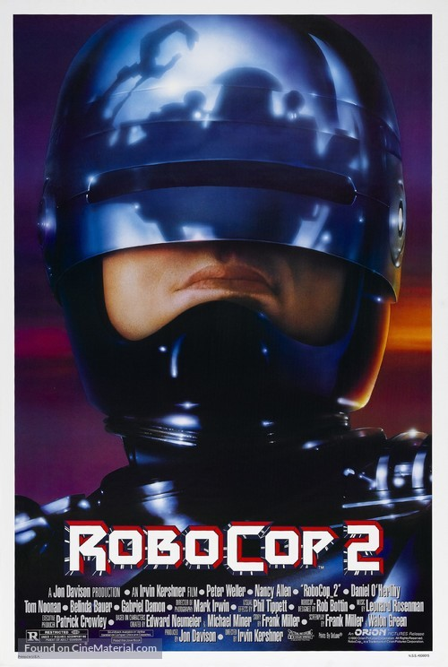 RoboCop 2 - Theatrical poster