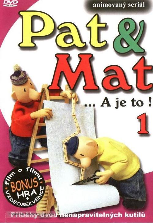 """""""Pat & Mat"""" - Czech Movie Cover"""