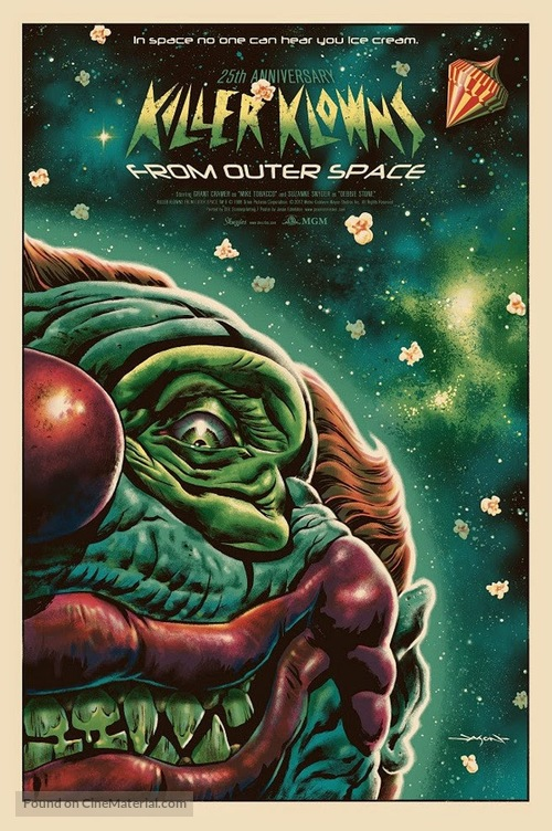 Killer Klowns from Outer Space - Movie Poster